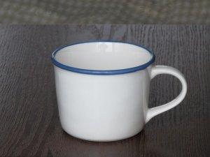画像1: Bleu et blanc マグ ホワイト